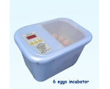 Mini 6 chicken egg incubator