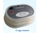 Mini 12 chicken egg incubator
